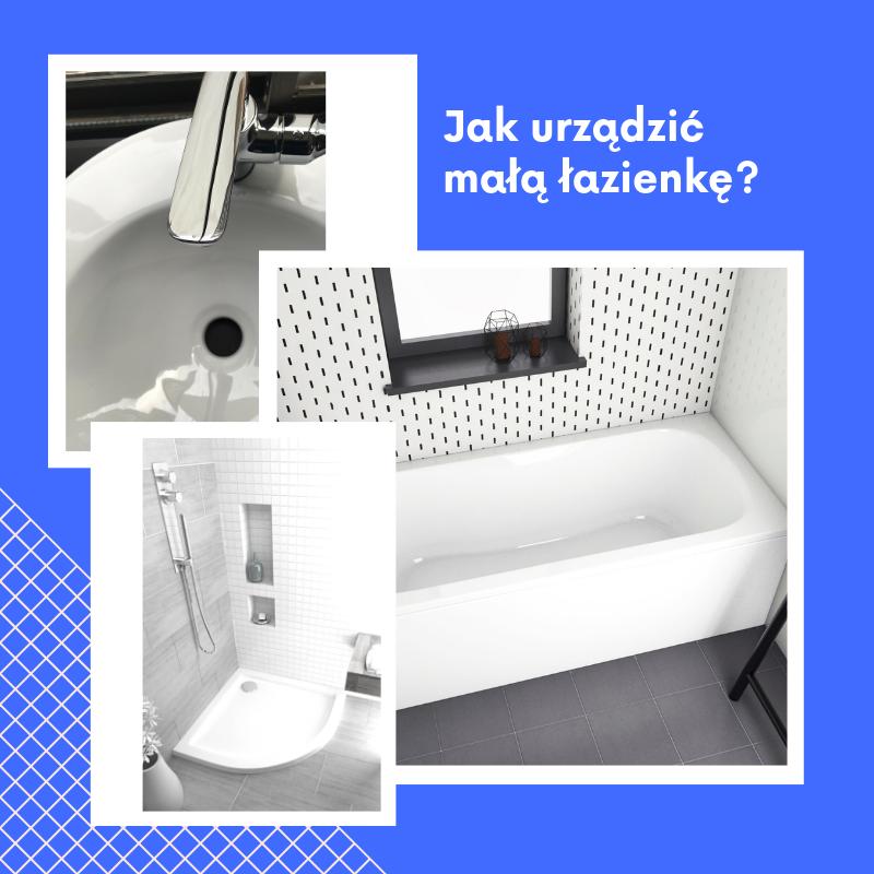 Jak urządzić małą łazienkę? Blog PLANETA ŁAZIENEK